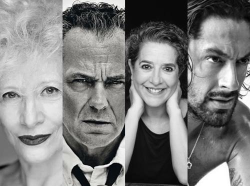 Foto de Magüi Mira, Helena Pimenta, José Coronado y Rafael Amargo, Medalla de Oro de las Bellas Artes