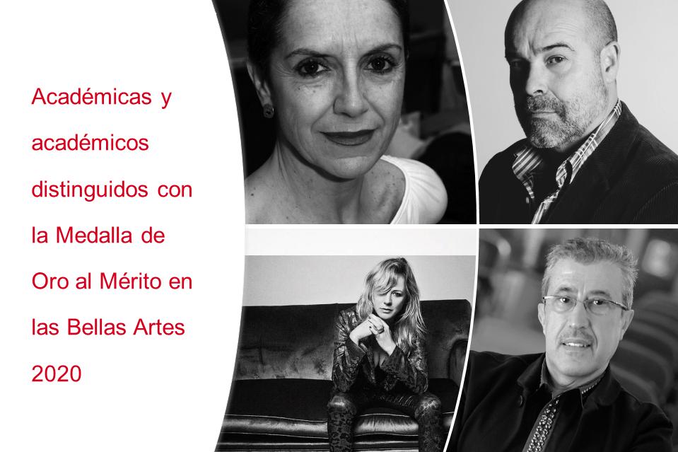 Foto de Medallas de Oro al Mérito en las Bellas Artes 2020