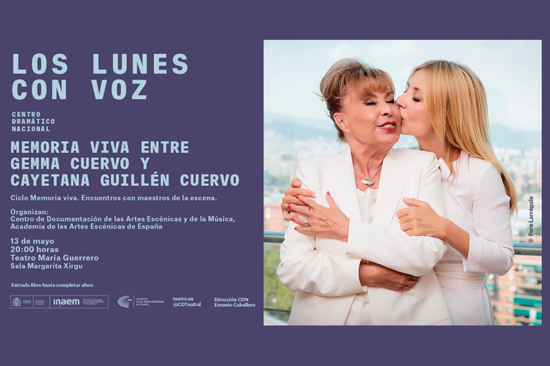 Foto de Memoria viva entre Gemma Cuervo y Cayetana Guillén Cuervo
