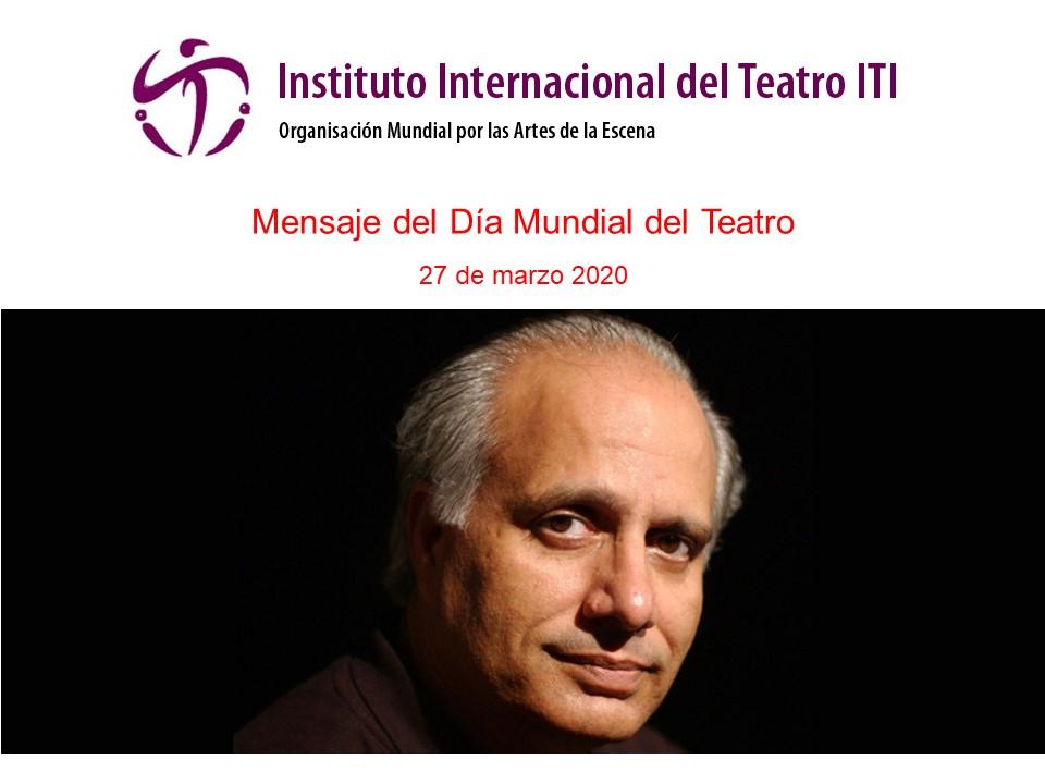 Foto de Mensaje para el Día Mundial del Teatro 2020, de Shahid Nadeem