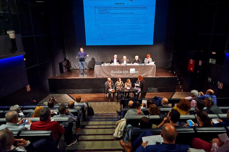 Foto de Ampliación de la Junta Directiva de la Academia de las Artes Escénica