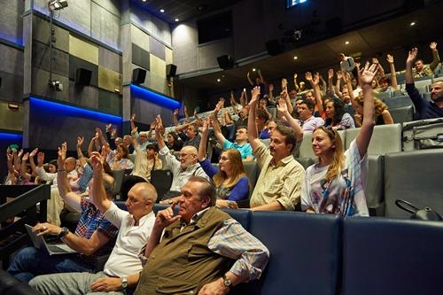 Foto de La Academia reúne a un centenar de profesionales de la escena en su Asamblea Ordinaria del 22 de junio.