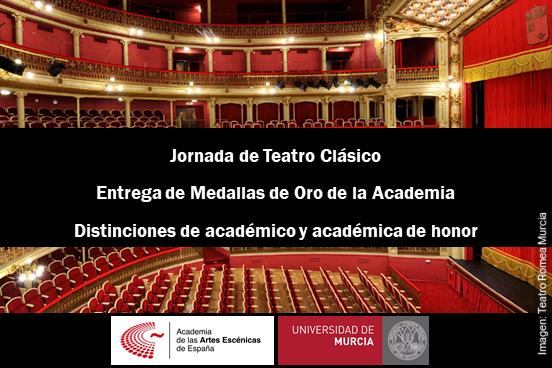 Foto de La Universidad de Murcia y la Academia se unen en la Jornada de Teatro Clásico