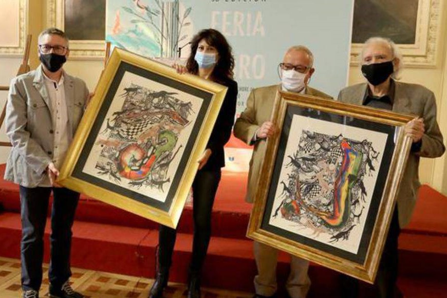 Foto de José Luis Alonso de Santos recoge el XVIII Premio de la Crítica de Castilla y León