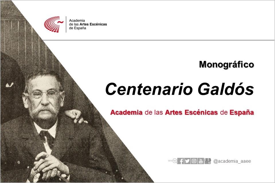 Foto de Monográfico sobre el Centenario Galdós