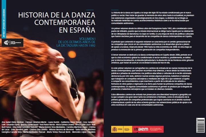"""Foto de La Academia publica el primer volumen de la trilogía """"Historia de la danza contemporánea en España"""""""