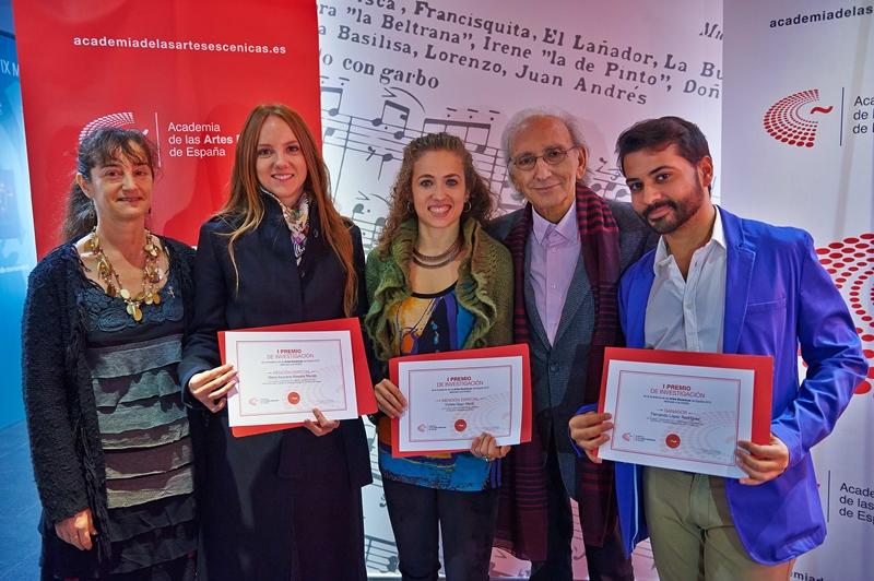 Foto de Se entrega el I Premio de Investigación de la Academia de las Artes Escénicas