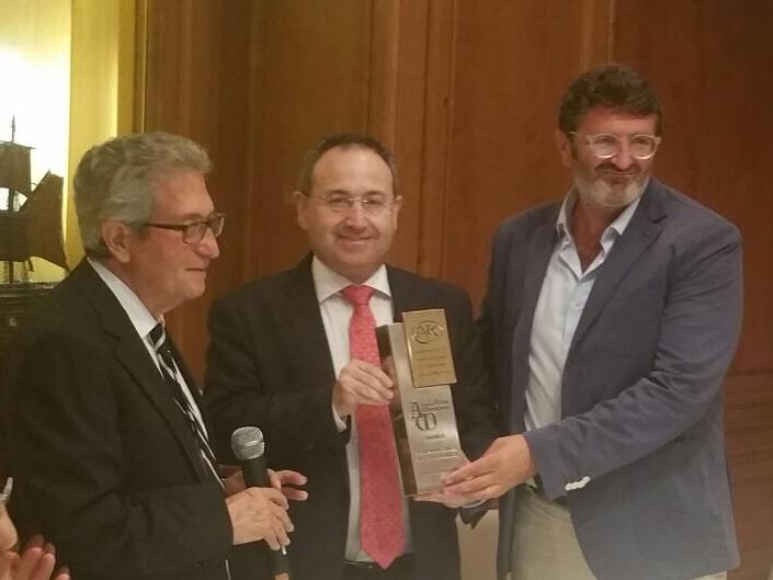 Foto de El Festival de Teatro Clásico de Mérida recibe el Premio Arias Montano en Barcelona