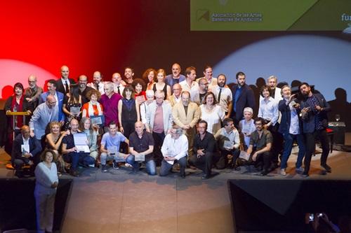 Foto de Numerosos académicos reconocidos en los Premios Lorca del Teatro Andaluz