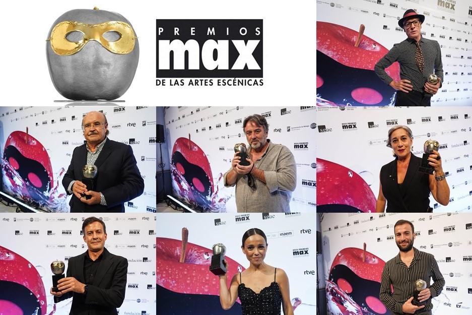 Foto de Académicas y académicos galardonados en los XXIII Premios Max