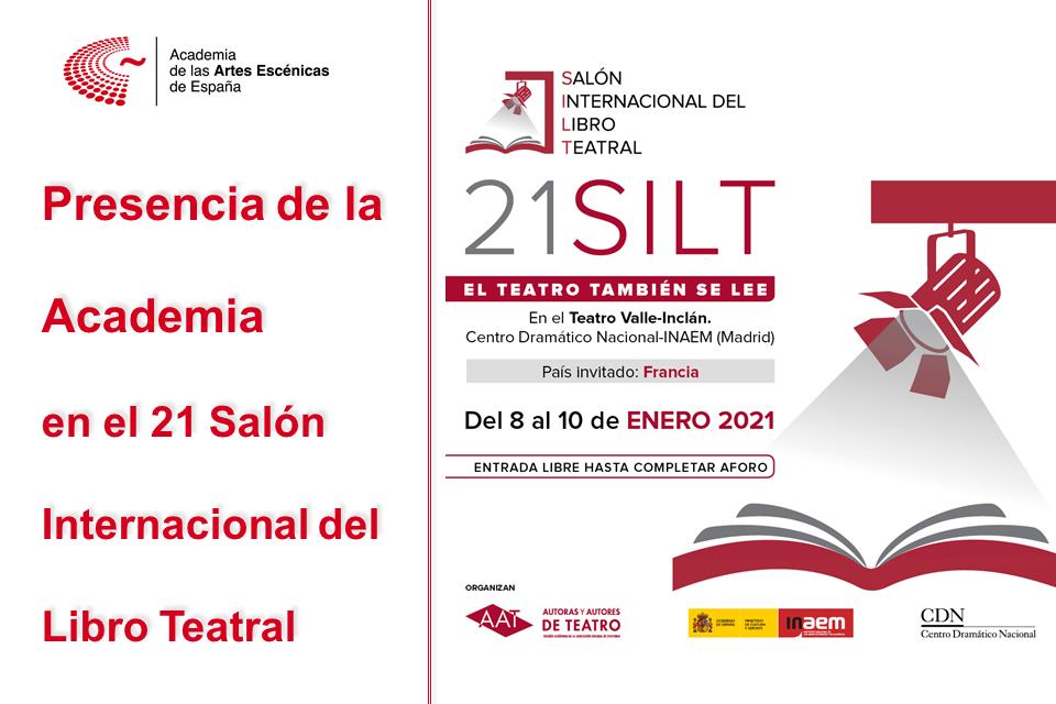 Foto de Presencia de la Academia en el 21 Salón Internacional del Libro Teatral