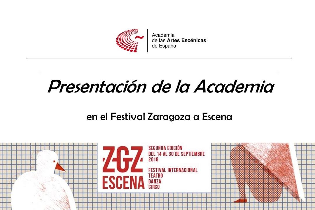 Foto de Presentación de la Academia en Zaragoza