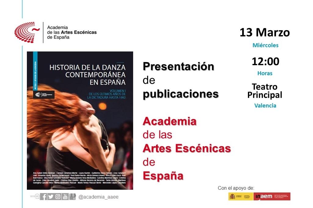 """Foto de Presentación en Valencia """"Historia de la danza contemporánea en España (Vol.1)"""""""