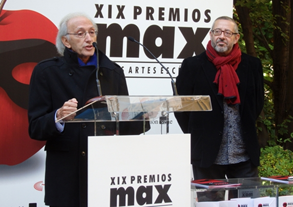 Foto de La Academia con los Premios Max