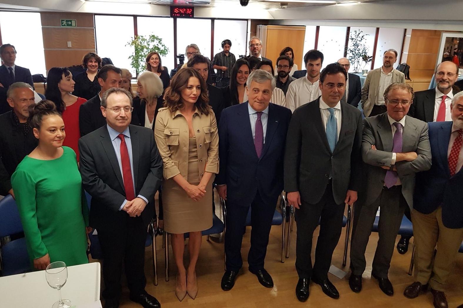 Foto de El presidente de la Academia se reúne con el presidente del Parlamento Europeo