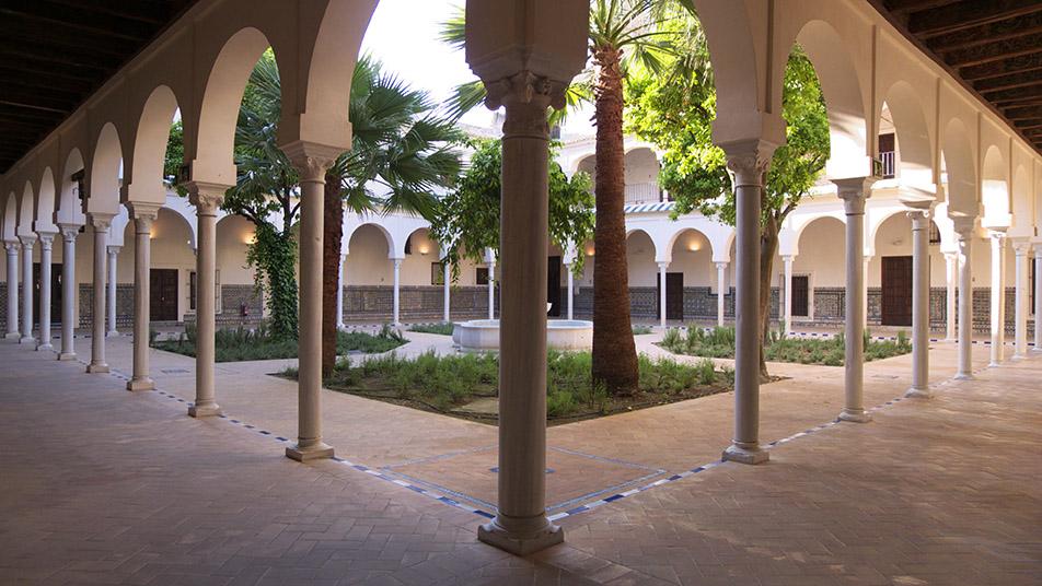 Foto de La Academia de las Artes Escénicas de España en la Bienal de Flamenco de Sevilla.