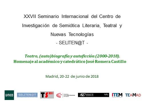 Foto de La Academia colabora en el XXVII SELINEN@T. Homenaje al académico y catedrático José Romera Castillo