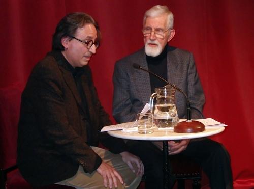 Foto de IV Encuentro en el Español: Denis Rafter con Shakespeare